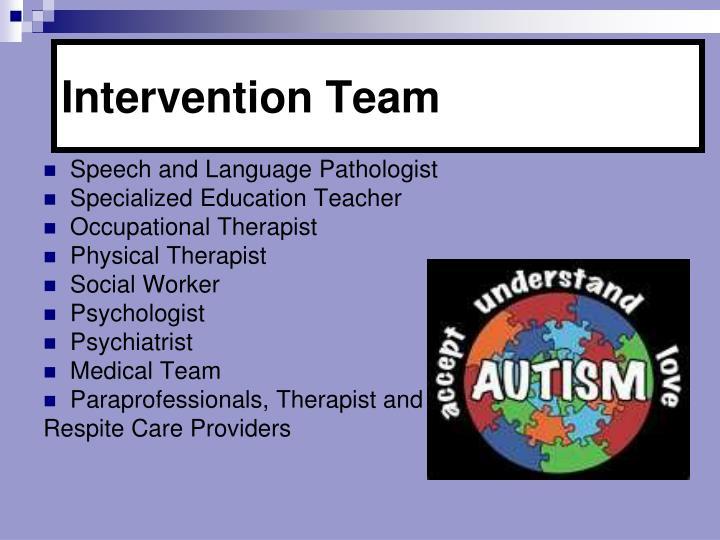 Intervention Team