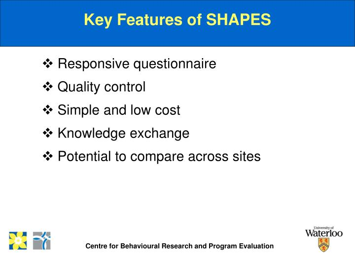 Key Features of SHAPES