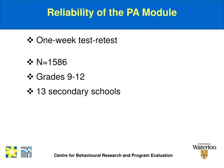Reliability of the PA Module