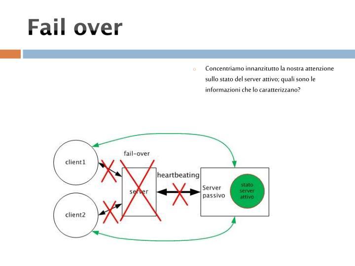 Concentriamo innanzitutto la nostra attenzione sullo stato del server attivo; quali sono le informazioni che lo caratterizzano?