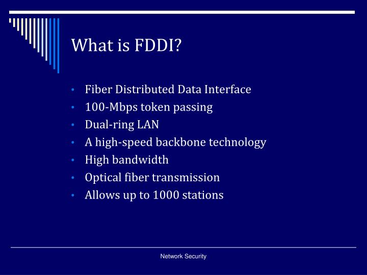 What is fddi