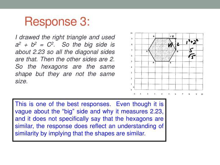 Response 3: