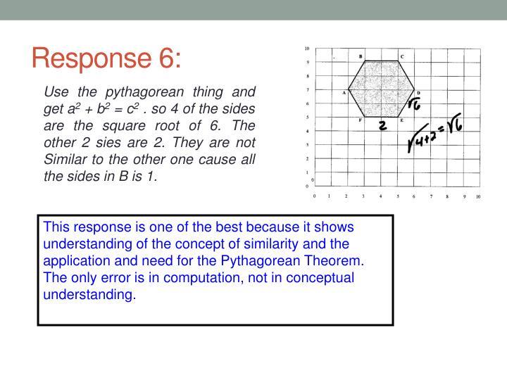 Response 6: