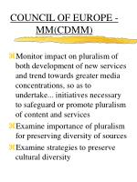 council of europe mm cdmm