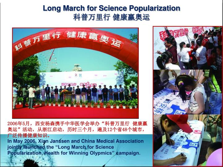 Long March for Science Popularization