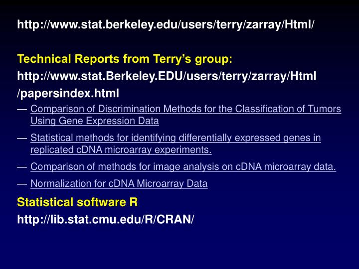 http://www.stat.berkeley.edu/users/terry/zarray/Html/