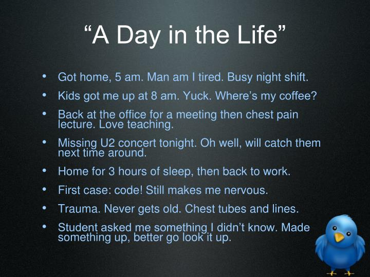 """A Day in the Life"""