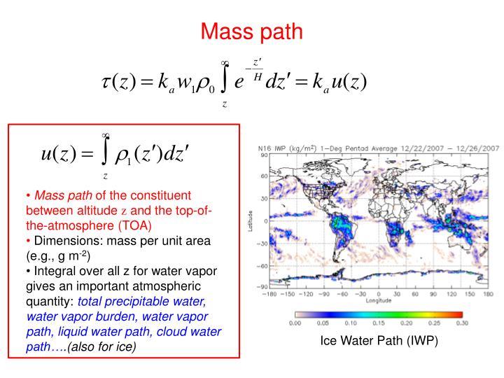 Mass path