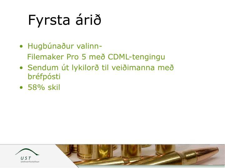 Fyrsta