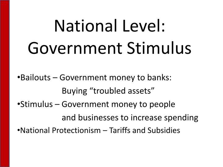 National Level:
