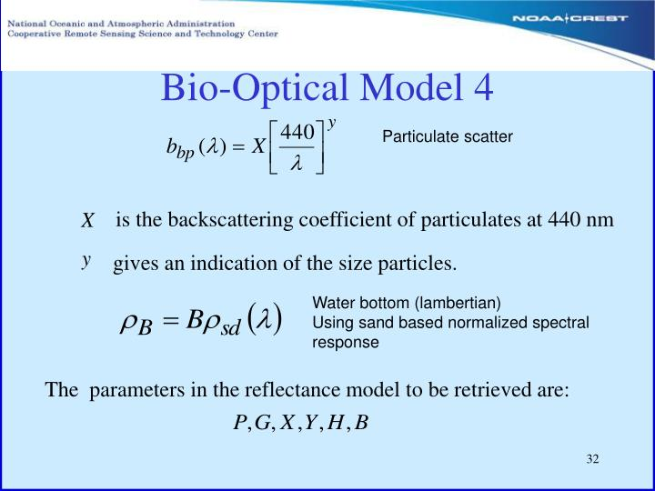 Bio-Optical Model 4