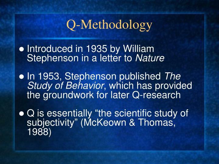 Q-Methodology