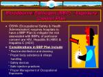 bloodborne pathogen bbp exposure control plan
