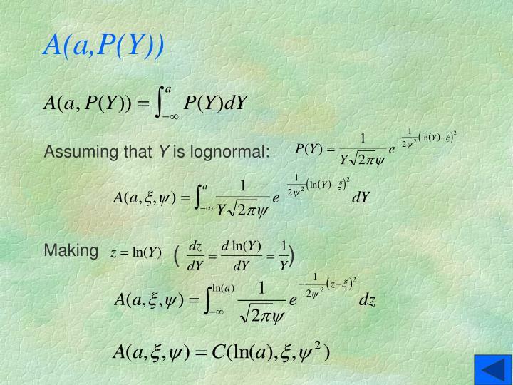 A(a,P(Y))
