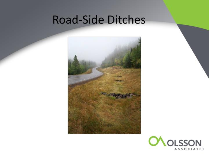 Road-Side Ditches