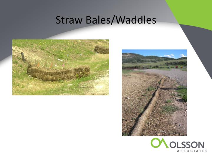 Straw Bales/Waddles