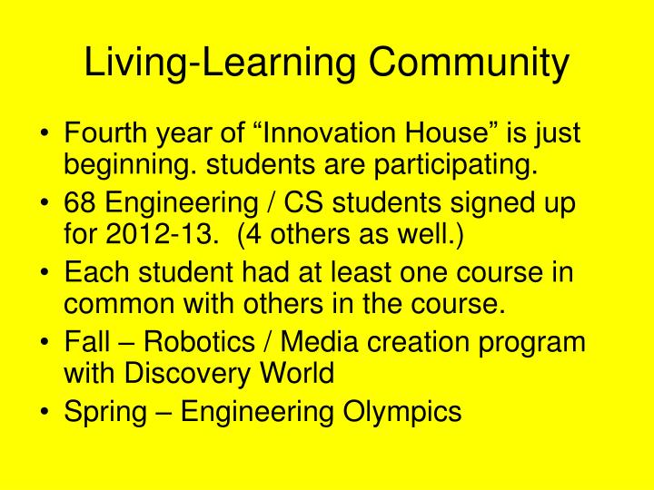 Living-Learning Community