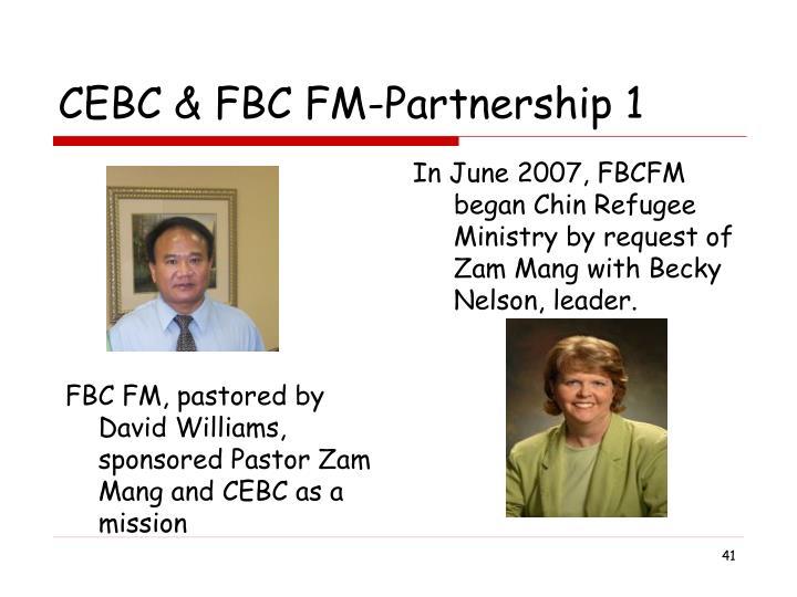 CEBC & FBC FM-Partnership 1