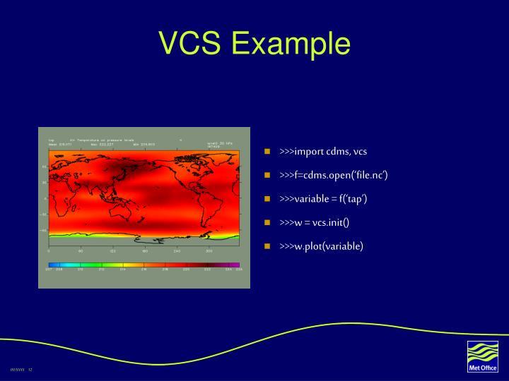 VCS Example