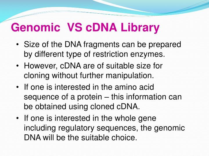 Genomic  VS