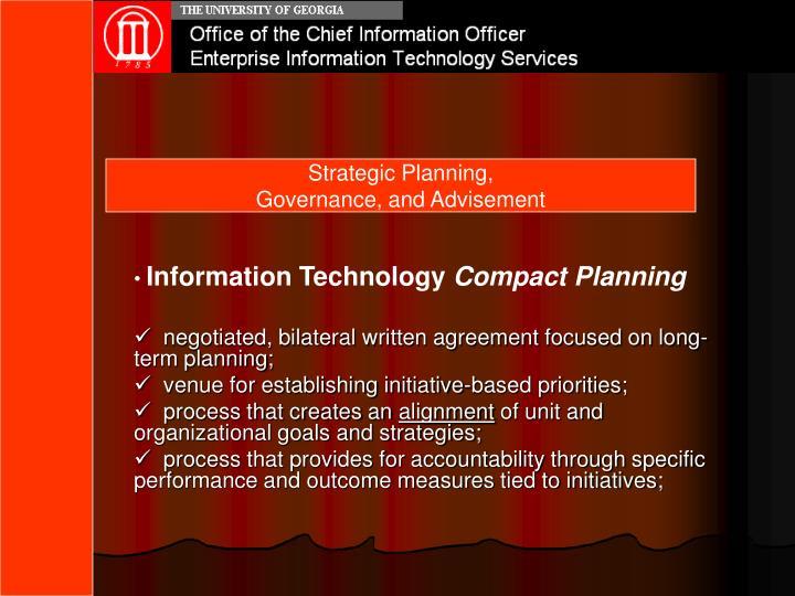Strategic Planning,