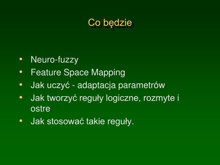 Neuro-fuzzy