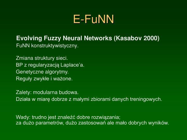 E-FuNN