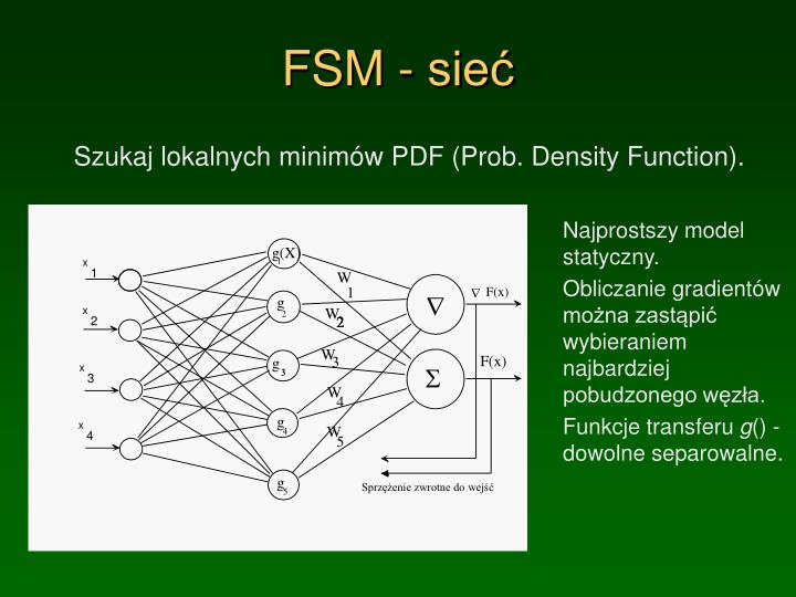 FSM - sieć