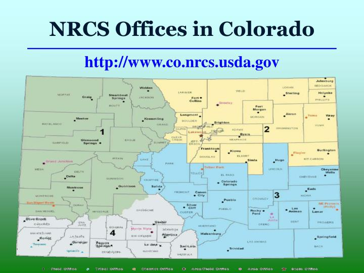 NRCS Offices in Colorado