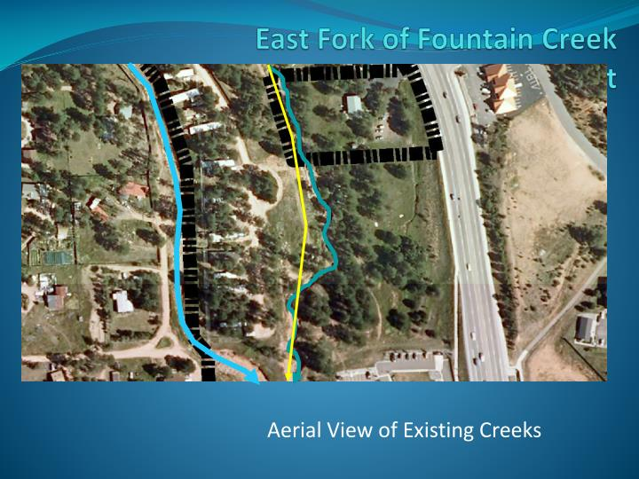 East fork of fountain creek floodplain hazard development permit