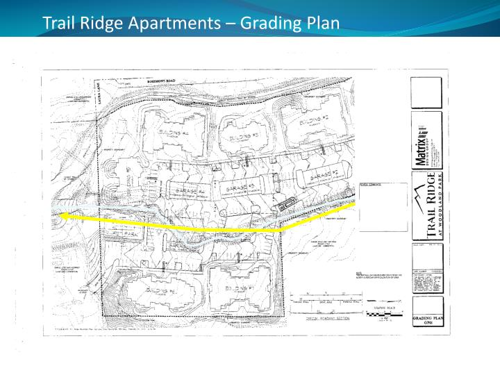 Trail Ridge Apartments – Grading Plan