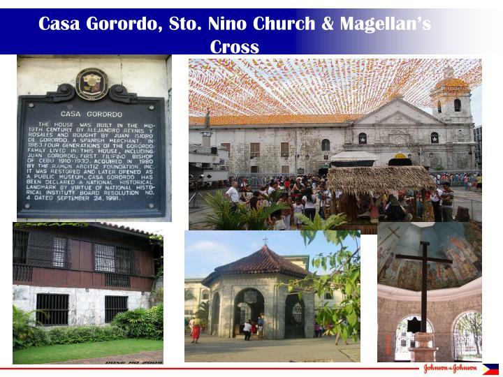 Casa Gorordo, Sto. Nino Church & Magellan's Cross