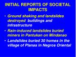 initial reports of societal impacts2