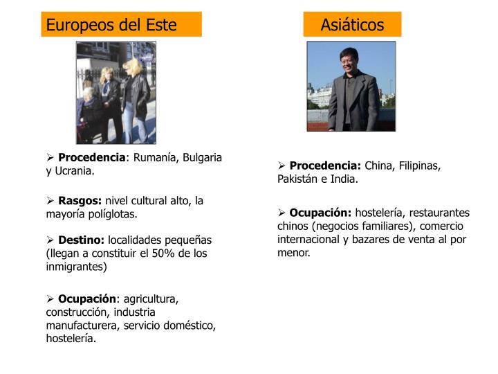 Europeos del Este