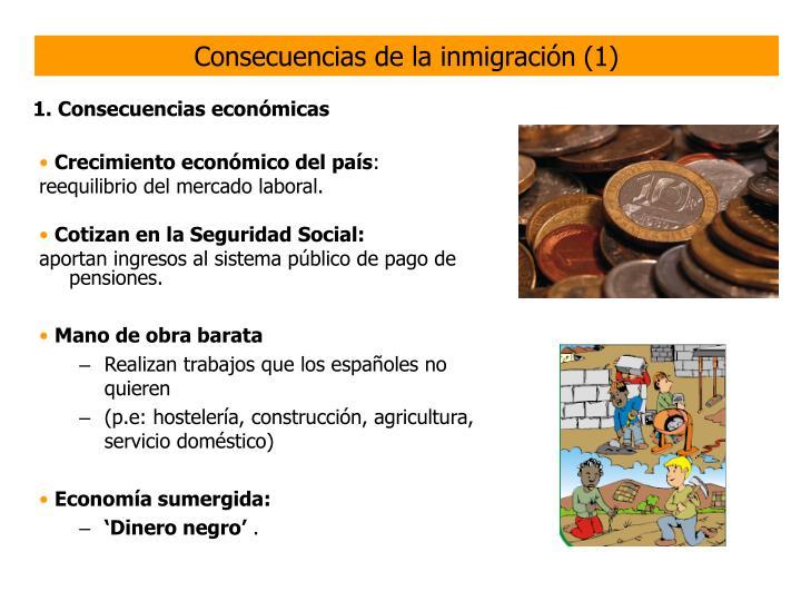 Consecuencias de la inmigración (1)