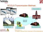 scola transmission method