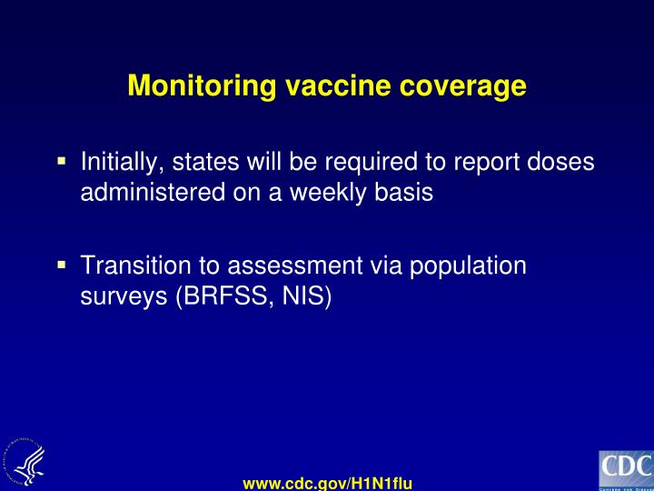 Monitoring vaccine coverage