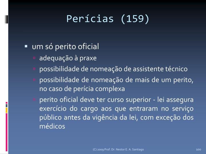 Perícias (159)