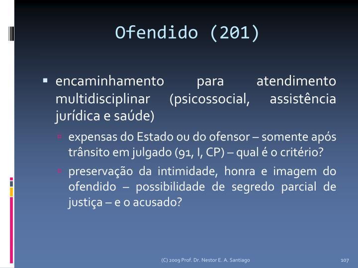 Ofendido (201)