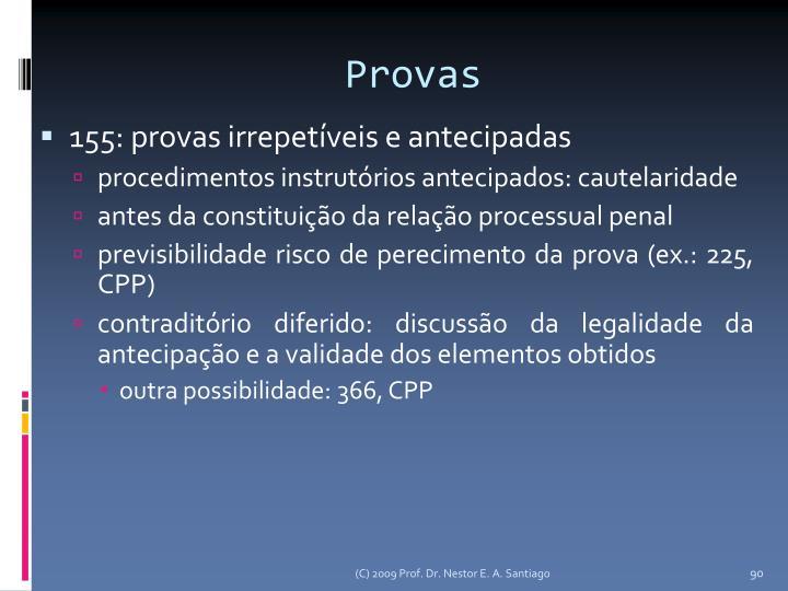 Provas