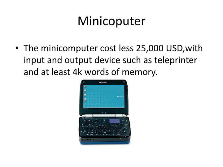 Minicoputer
