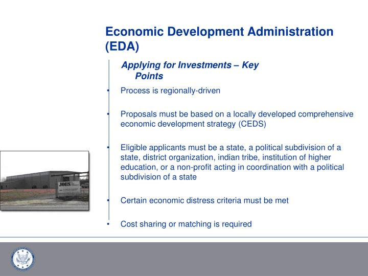 Economic Development Administration (EDA)