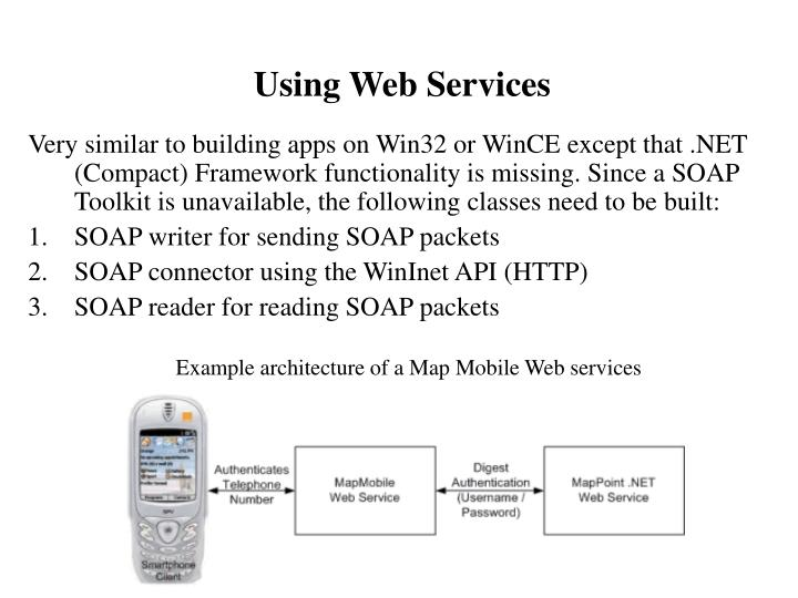Using Web Services