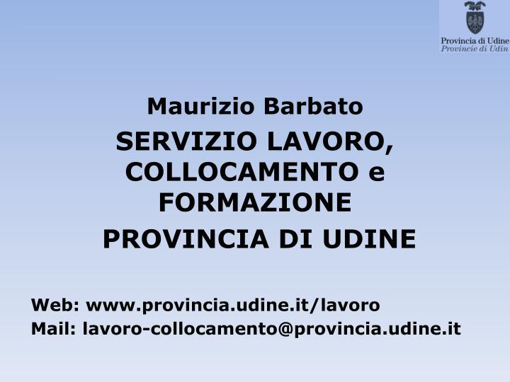 Maurizio Barbato