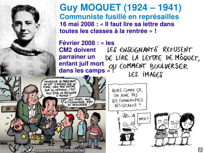 Guy MOQUET (1924 – 1941)
