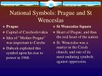 national symbols prague and st wenceslas