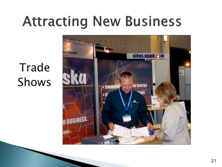 Attracting New Business