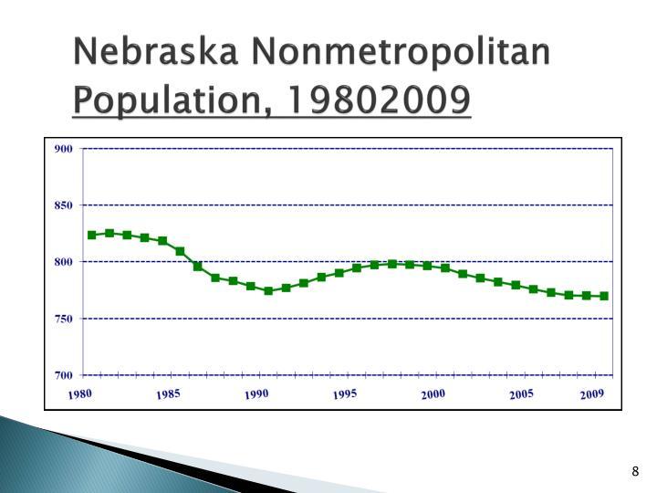 Nebraska Nonmetropolitan