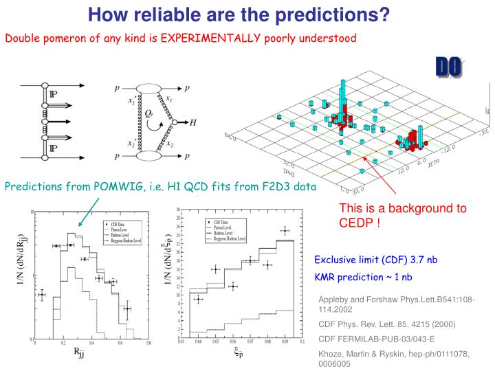 How reliable are the predictions?