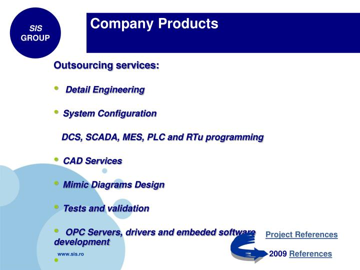 Company Products